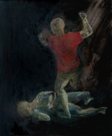 Naturstudium, 60 x 50 cm, Öl auf Leinwand, 2009