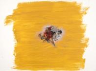 Physis, 38 x 52 cm, Mischtechnik auf Holz, 2008