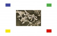 Körper & Geometrie, 160 x 240 cm, Lack und Öl auf Leinwand, 2004-2007