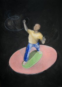 Solo, 210 x 140 cm, Öl auf Leinwand, 2012