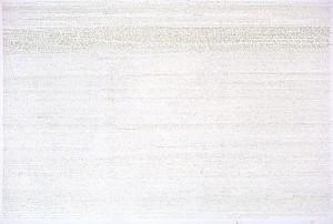 18178 Worte 122401 Zeichen, 170 x 280 cm, Tinte auf Leinwand, 2008-2012