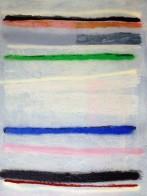 Spray-Bild, 130 x 100 cm, Mischtechnik auf Leinwand, 1997