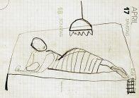 alias Kaumanns Frau, A 5, Kohle auf Papier, 1993, Privatbesitz