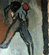 Ego-Fatzer, 100 x 80 cm, Öl auf Papier, 1993