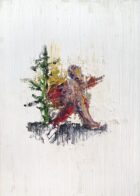 Wanderer, 35 x 25 cm, Öl auf Leinwand, 2019