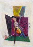 Caspar, 25 x 35 cm, Öl auf Leinwand, 2020