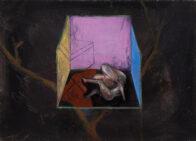 Traumbaum, 30 x 40 cm, Öl auf Leinwand, 2020
