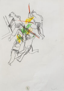Skizze Dornenkrönung Nr. 2